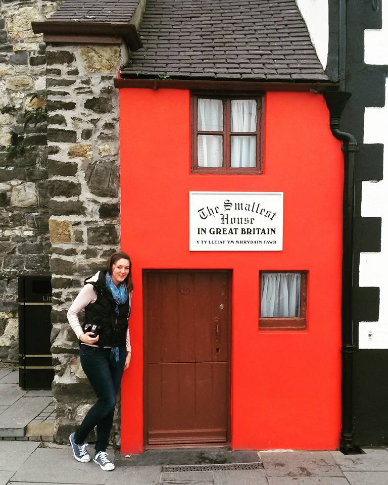 The Smallest House In Great Britain, Conwy, Wales